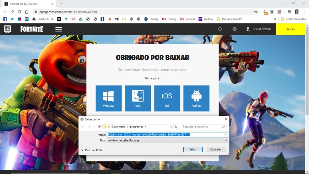 Como Baixar Fortnite E Instalar No Celular Ps4 Xbox One Pc E Switch Fortnite Ge