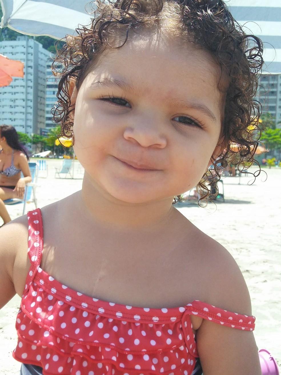 Manuela nasceu com síndrome de hipoplasia no coração esquerdo. (Foto: Arquivo Pessoal)