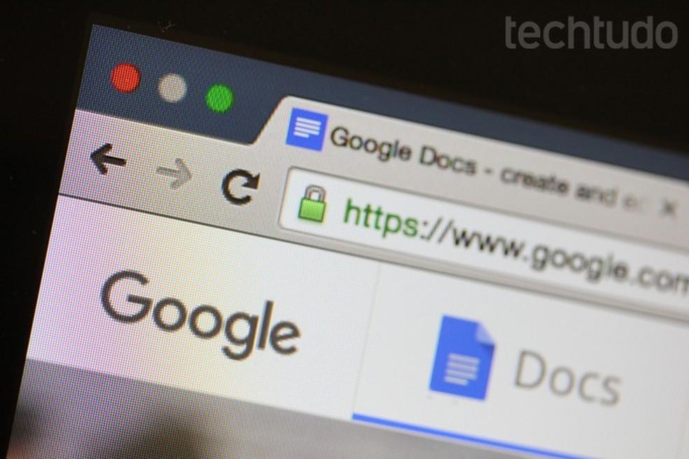 Hackers usam Google Docs para veicular ataque phishing bastante elaborado — Foto: Melissa Cruz/TechTudo