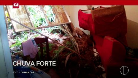 Destaque do dia: Comitê de urgência é criado após temporal em Silva Jardim, no RJ