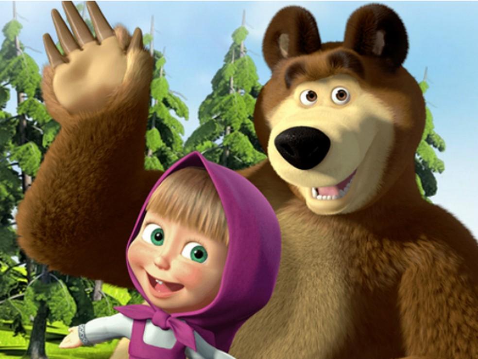 Personagens De Desenho Masha E O Urso Fazem Espetaculo Em Natal