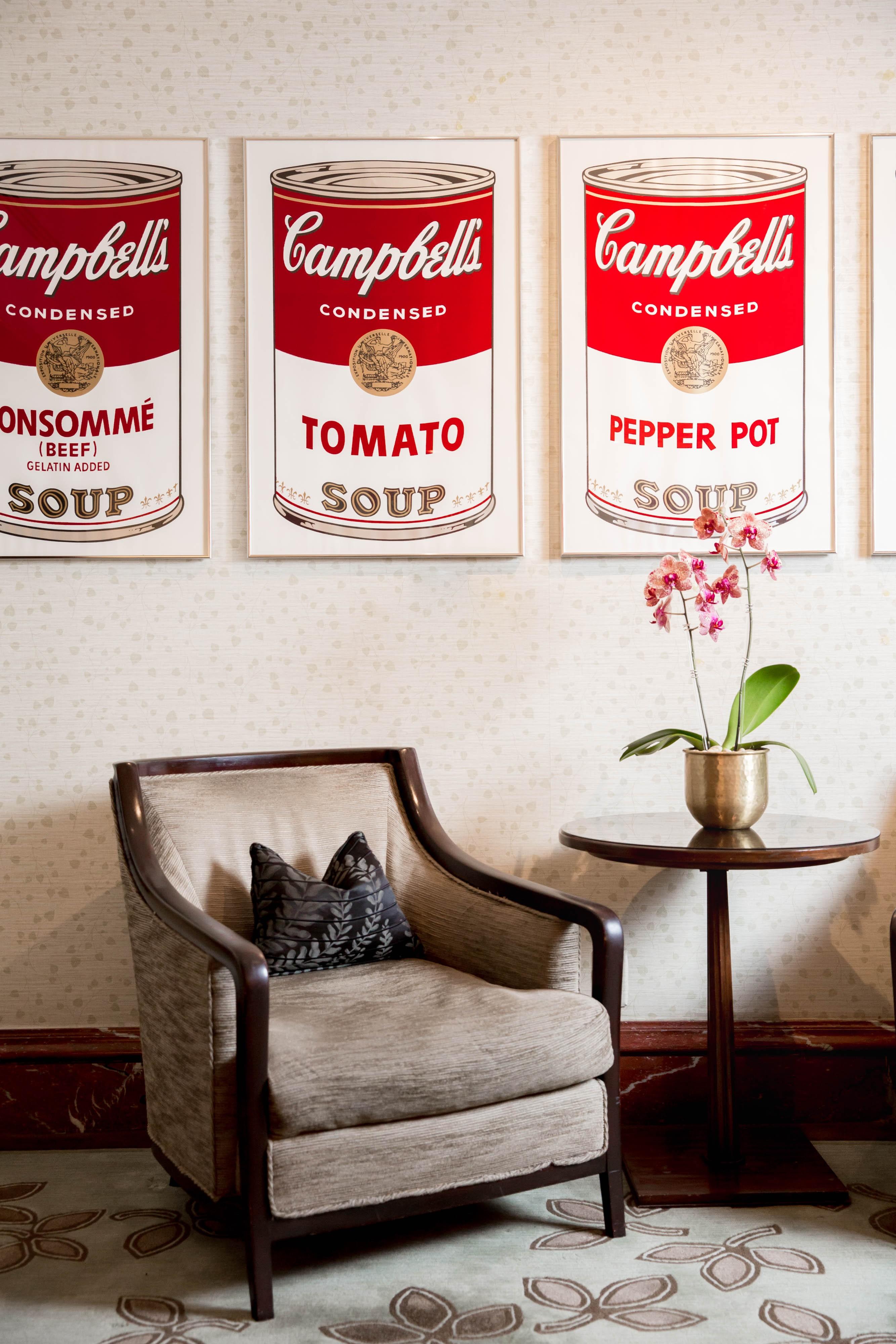 Serigrafia de lata da sopa Cambell, de Andy Warhol (Foto: Divulgação)