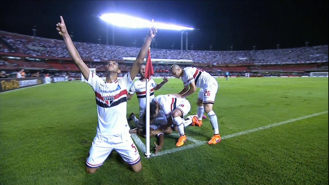 São Paulo 2 x 0 Corinthians - Libertadores 2015