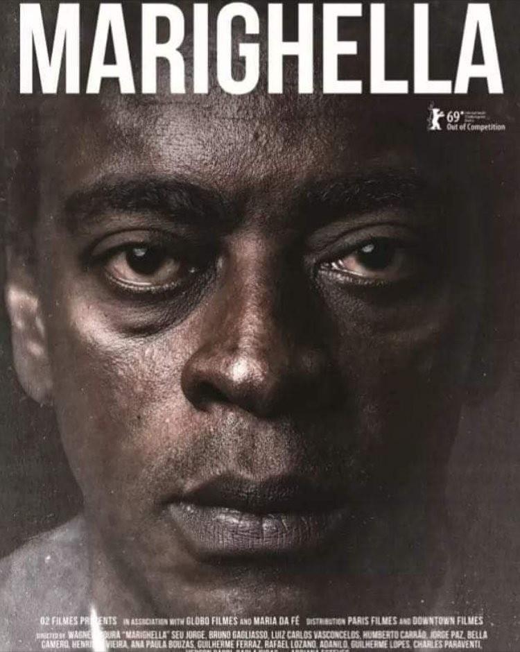 Cartaz de 'Marighella' para o Festival de Berlim (Foto: Divulgação)