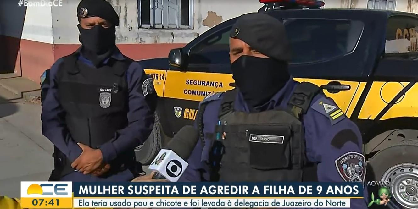 Mãe é presa por agredir filha de 9 anos com golpes de chicote no Ceará