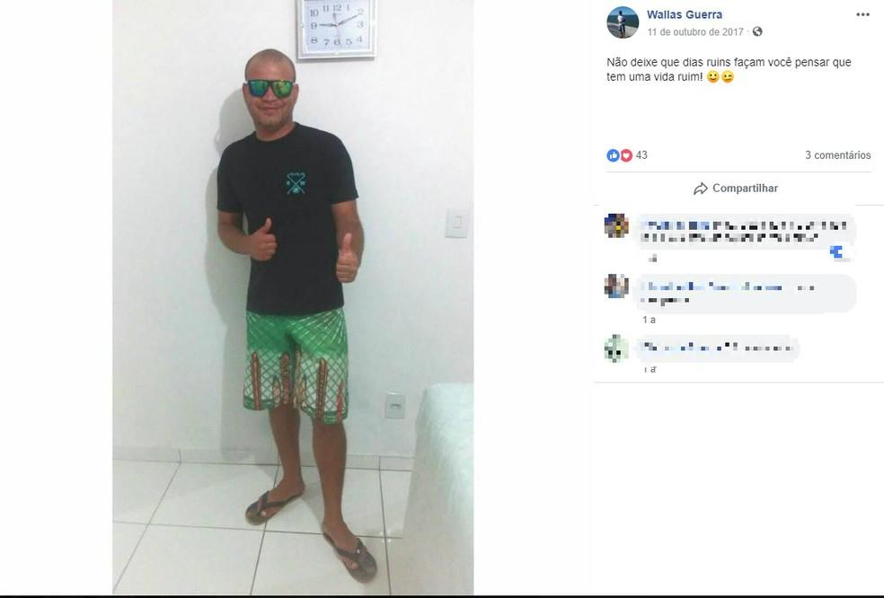 Deficiente visual morreu após queda de trator em ribanceira na Bahia — Foto: Reprodução/Redes Sociais
