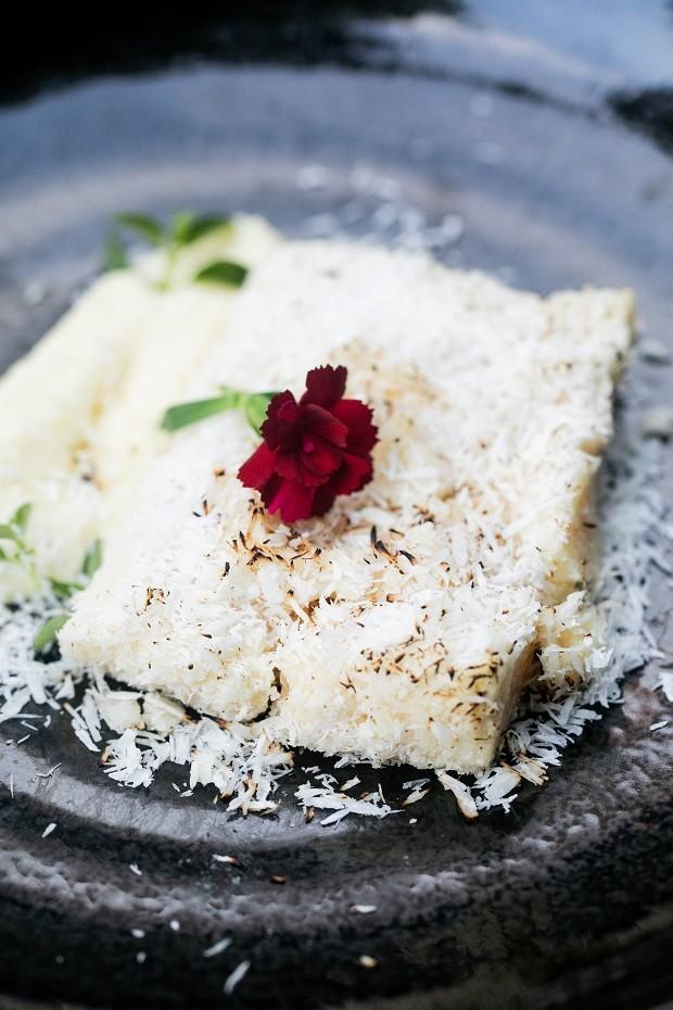 Receita de cocada com creme de queijo (Foto: Divulgação)
