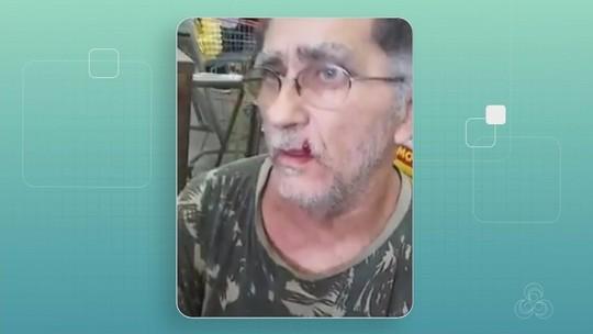 Cliente é agredido por segurança de supermercado após negar passar por revista