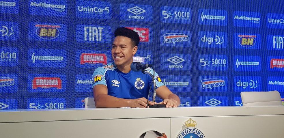 Marquinhos Gabriel Cruzeiro — Foto: Gabriel Duarte