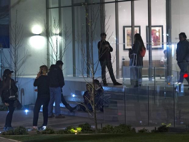 Terremoto foi sentido em Santiago nesta quarta-feira (16) (Foto: Martin Bernetti/AFP)