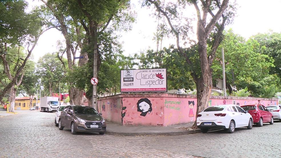 Centro Clarice Lispector acolhe e orienta mulheres vítimas de violência, no Recife — Foto: Reprodução/TV Globo