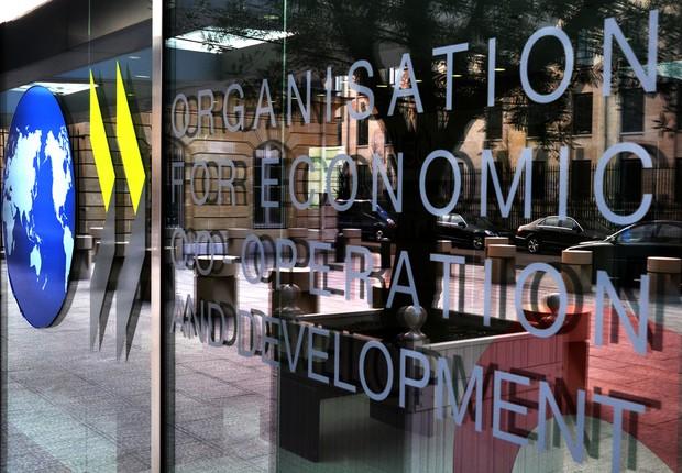 Sede da Organização para a Cooperação e Desenvolvimento Econômico (OCDE)  (Foto: Getty Images/Arquivo)