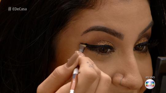 Bianca Andrade ensina a fazer maquiagem de festa gastando pouco