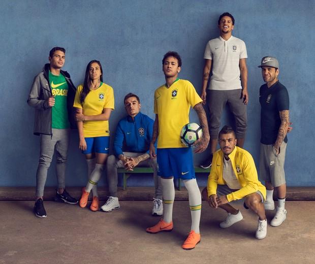 Ação publicitária do uniforme do Brasil na Copa  (Foto: reprodução)