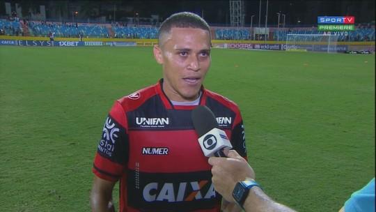"""João Paulo exalta os dois gols e o espírito de luta do Atlético-GO: """"Série B é assim"""""""