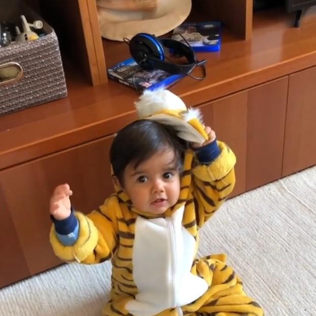Artur, filho de Kelly Key e Mico Freitas (Foto: Reprodução/Instagram)