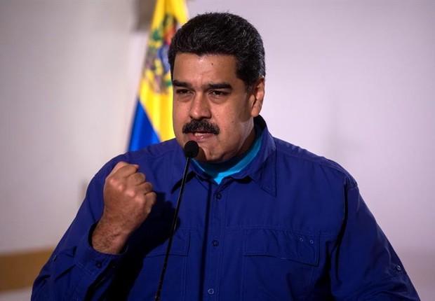 Nicolás Maduro, presidente da Venezuela (Foto: EFE)