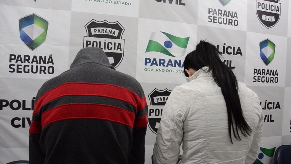 Casal é preso suspeito de matar grávida em Palmas (Foto: Divulgação/Polícia Civil)