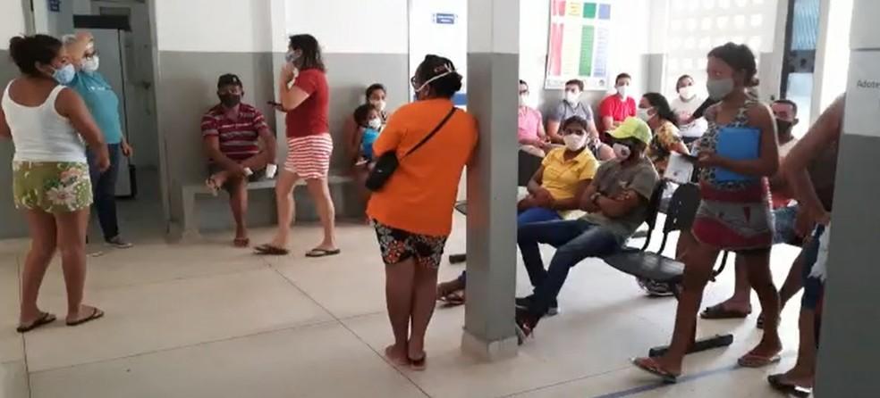 Pessoas de 18 anos começaram a ser vacinadas em Pedro Avelino — Foto: Divulgação/Pedro Avelino
