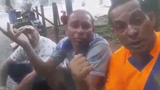 """Wagner Diniz se emociona ao falar de vídeo de ex-colega Valdiram na rua: """"Ninguém sai dela sozinho"""""""