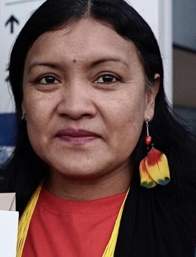 Valéria Paye-Articulação dos Povos Indígenas do Brasil (Foto: Reprodução/wecaninternational.org)