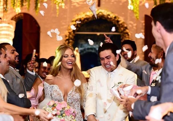 Luísa Sonza e Whindersson Nunes se casam  (Foto: Instagram/Reprodução)