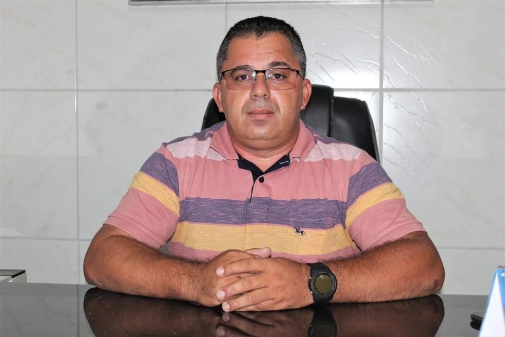 Prefeito de Riacho de Santo Antônio, na PB, morre aos 46 anos vítima de Covid-19 — Foto: Divulgação/Prefeitura Municipal de Riacho de Santo Antônio, PB