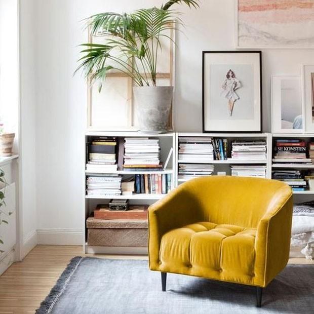 Decoração amarela (Foto: Reprodução/Divulgação)
