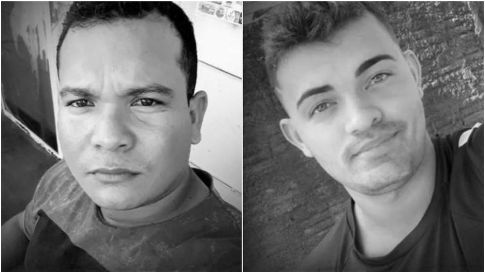 Romildo e Evandro morreram durante acidente na BR-226, em Barra do Corda — Foto: Arquivo pessoal