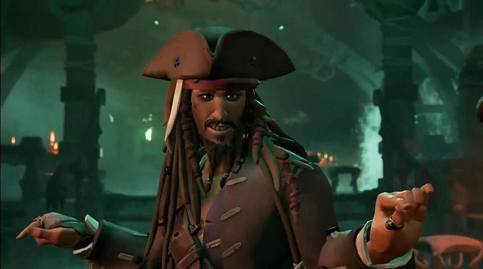 Piradas do Caribe vira CLD em Sea of Thieves — Foto: Reprodução/Xbox & Bethesda Games Showcase