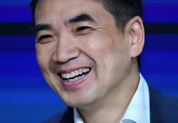 Eric Yuan, CEO da Zoom (Foto: Reuters)