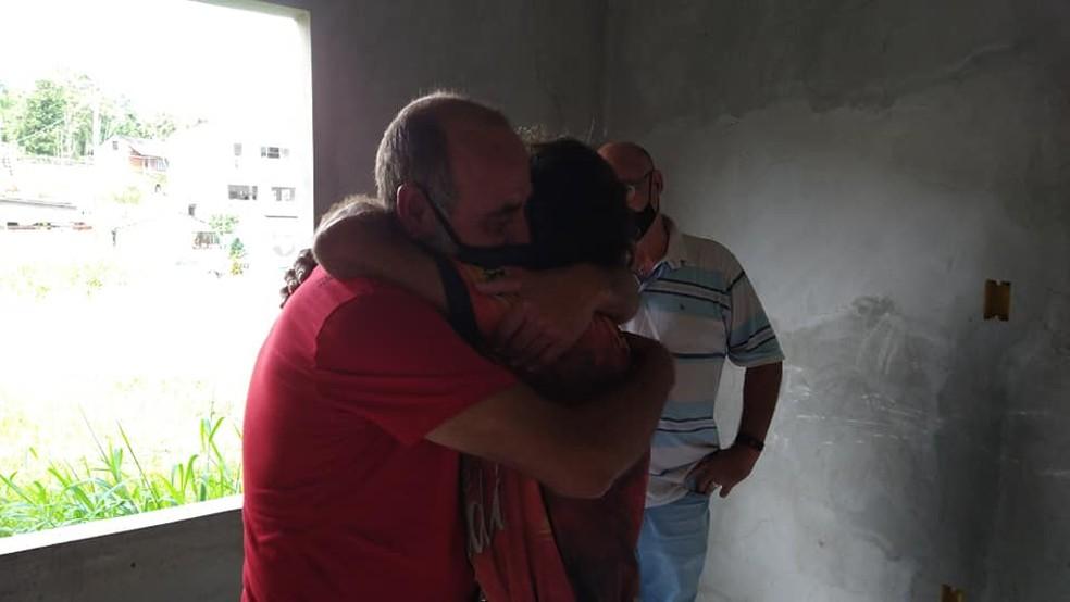 Nilson Batista Marques foi encontrado pelos irmãos em Cruzeiro do Sul, no interior do Acre  — Foto: Arquivo pessoal