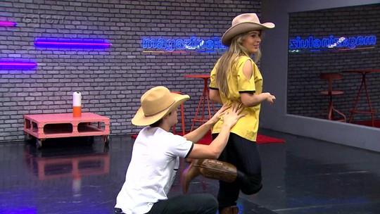 'Dança dos Famosos 2017': Confira as 'videocassetadas' dos homens nos ensaios do country