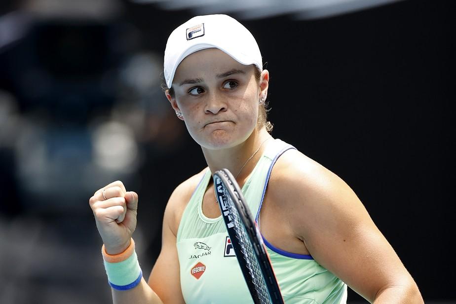 Número 1 do tênis, Ashleigh Barty está fora do US Open por preocupação com o Covid-19