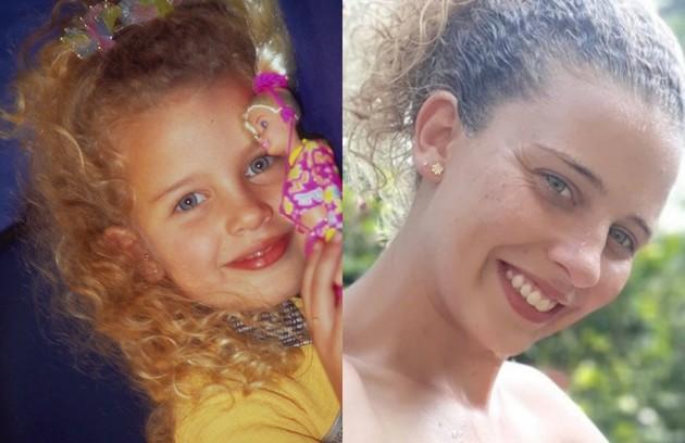 Debby Lagranha começou a carreira artística no 'Clube da criança', em 1997, e, no ano seguinte, integrou o elenco de 'A turma do Didi'. Seu último trabalho na TV foi em 'Aquele beijo' (2012). Atualmente, ela trabalha como veterinária (Foto: Divulgação / Reprodução Instagram)