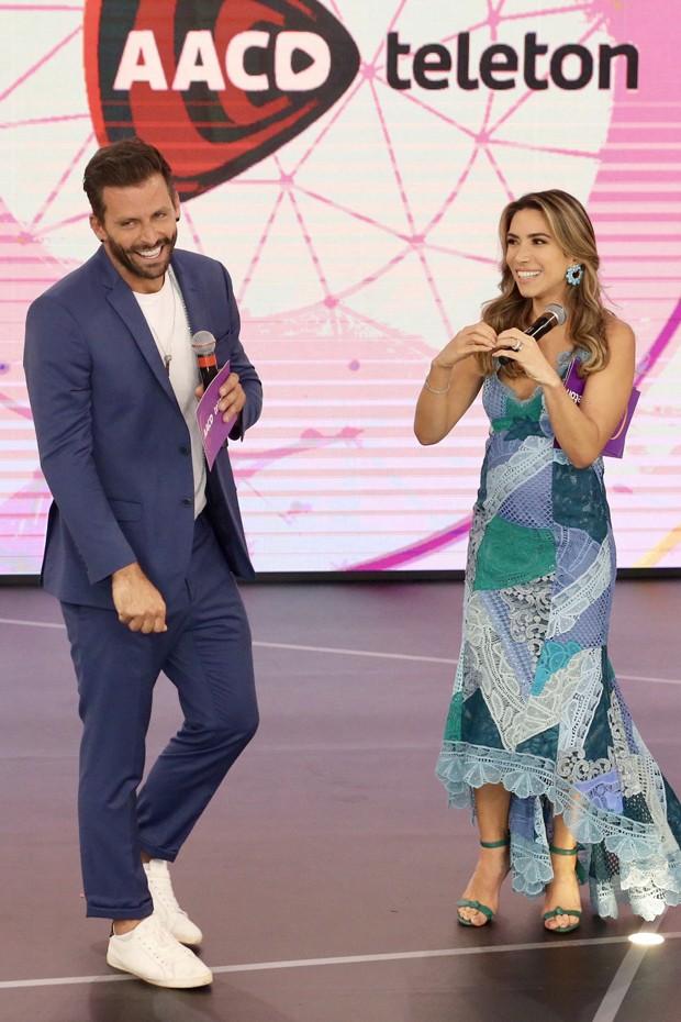 Patricia Abravanel e Henri Castelli (Foto: Manuela Scarpa/Brazil News)