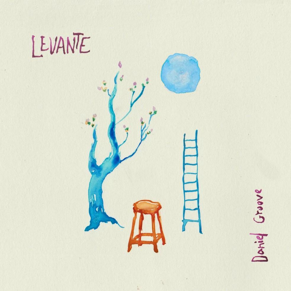 Capa do álbum 'Levante', de Daniel Groove (Foto: Arte de Rhaissa Cristina)