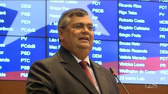 Governador Flávio Dino toma posse no Maranhão