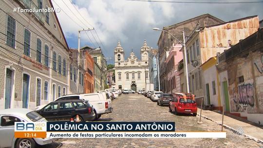 Moradores do Santo Antônio Além do Carmo reclamam de barulho de festas no local