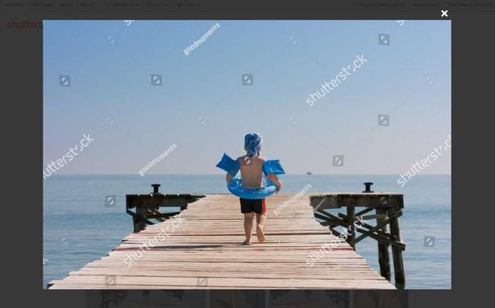 Shutterstock muda estratégia após Google remover marca d