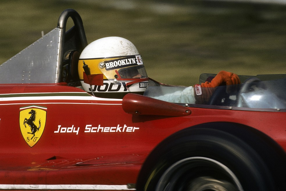 Jody Scheckter rumo à vitória no GP da Itália de 1979 — Foto: Getty Images