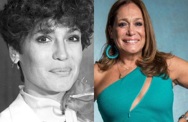 Longe da TV desde 'Os dias eram assim', Susana Vieira interpretou Paula, uma mulher ambiciosa, casada com Mauro (Otávio Augusto)