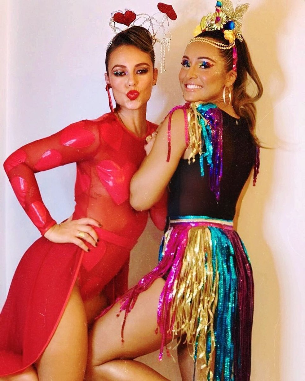 Paolla Oliveira e Thaissa Carvalho — Foto: Reprodução/Instagram