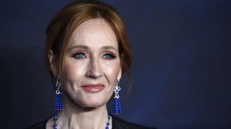 J. K. Rowling, a britânica responsável por escrever a saga Harry Potter (Foto: Getty Images)