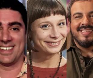 Marcelo Adnet, Katiuscia Canoro e Luis Lobianco | Reprodução