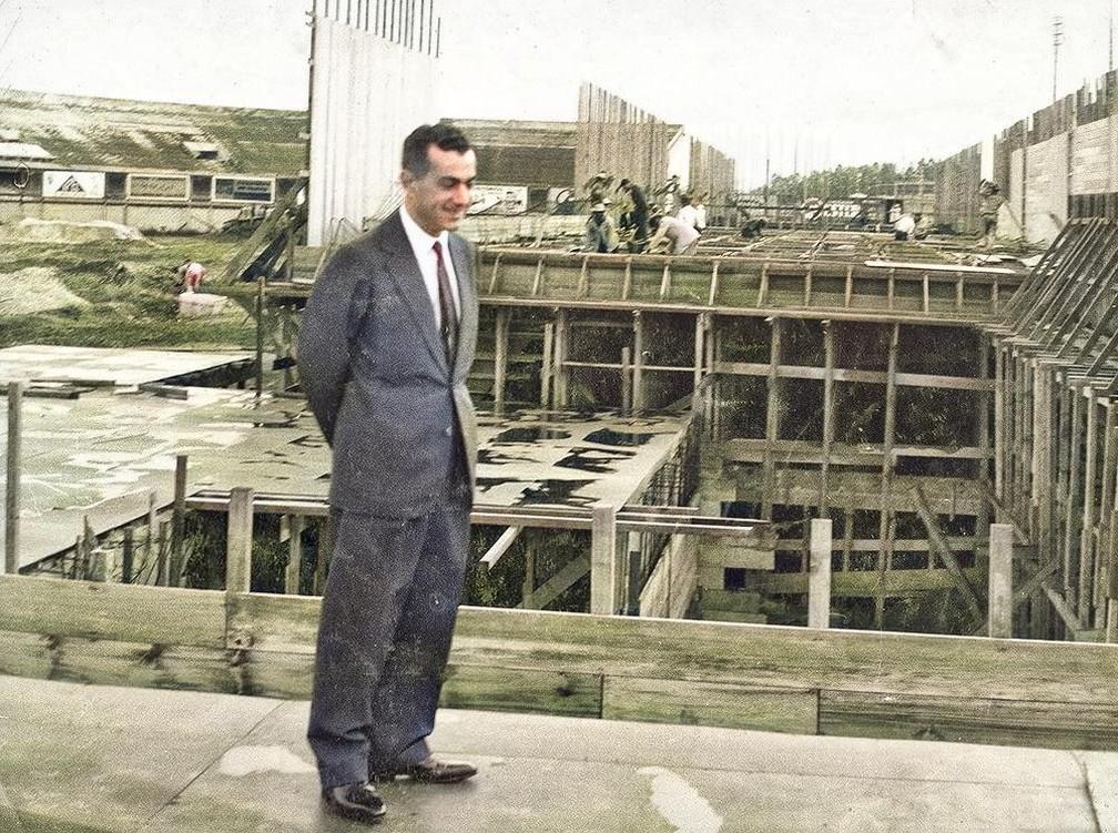 Laudo Natel foi ex-presidente do São Paulo  — Foto: Arquivo Histórico do São Paulo