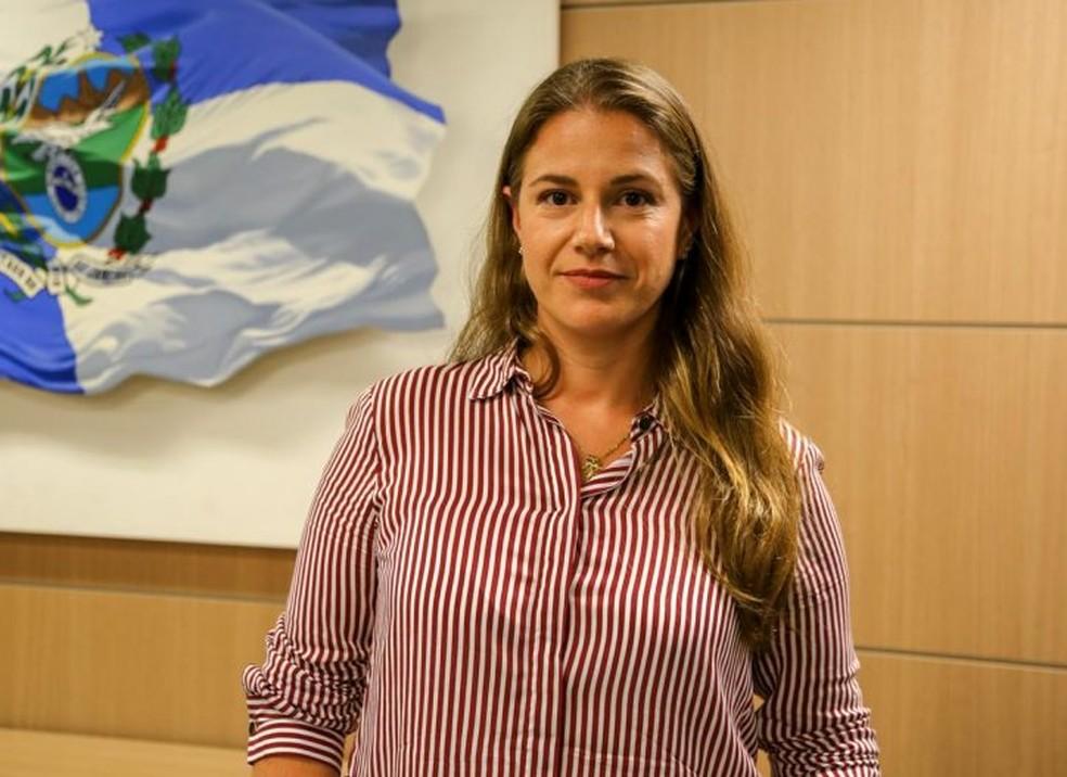 Secretária do Ambiente e Sustentabilidade, Ana Lúcia Santoro  — Foto: Divulgação