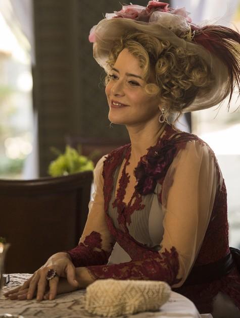 Christine Fernandes como Josephine de 'Orgulho e paixão' (Foto: Rede Globo / Maurício Fidalgo)