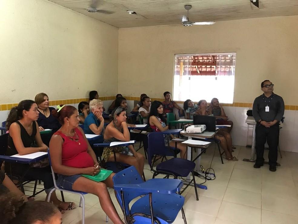 -  Polícia Civil promove ações gratuitas, além de palestras sobre o combate à violência doméstica contra a mulher  Foto: Divulgação/Policia Civil
