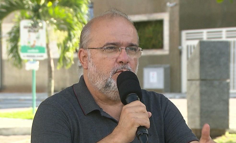 Sérgio Meira é presidente do Botafogo-PB — Foto: Reprodução / TV Cabo Branco